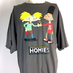 Nickelodeon Homies Shirt Short Sleeve Graphic